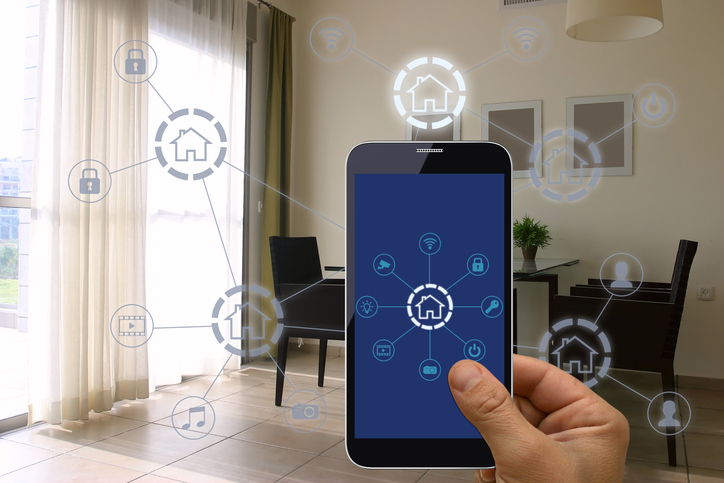 Smart home automation mobile phone application